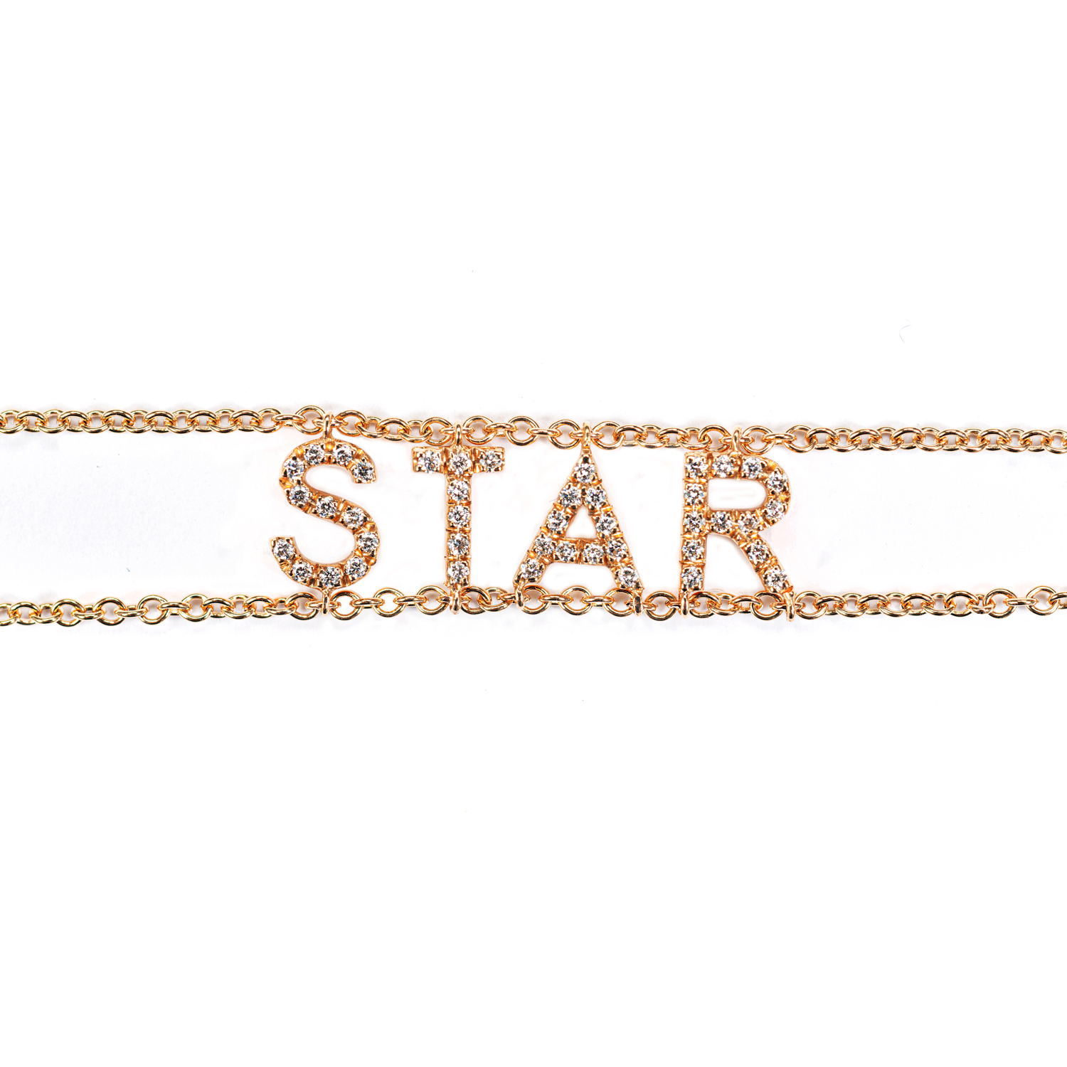 Bracciale Due Catenine STAR