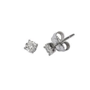 Orecchini Griffe con Diamanti